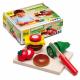Holz Schneidset - Cheesburger für Kinder ab 3 Jahre