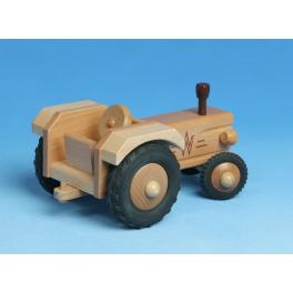 Holz-Traktor (ohne Dach) für Kinder ab 2 Jahre
