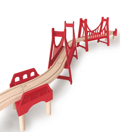 Große Doppel-Hängebrücke