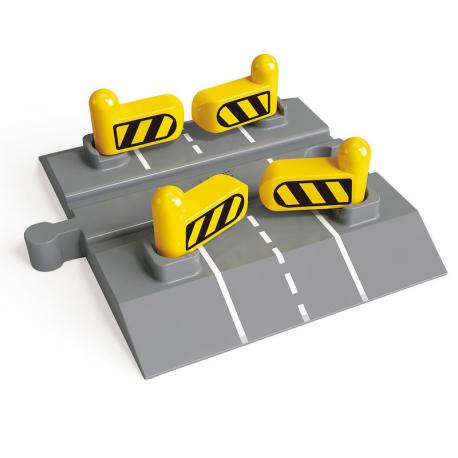 Bahnübergang mit automatischer Schranke