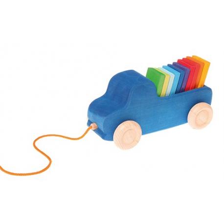 Grimms - Blauer Lastwagen zum Nachziehen