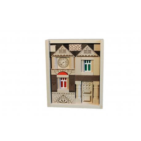 Holz Baukasten Noblesse für Kinder ab 3 Jahre