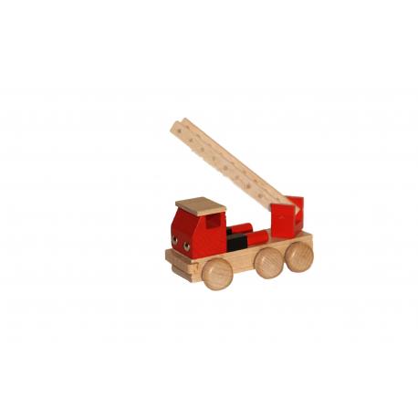 Holz Feuerwehr farbig für Kinder ab 3 Jahre
