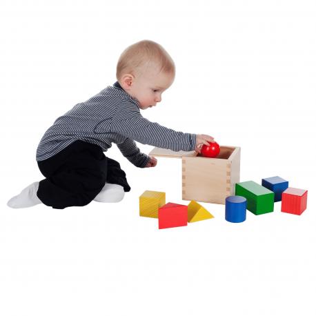 SINA Erstes Holzbaukästchen für Kinder ab 18 Monate