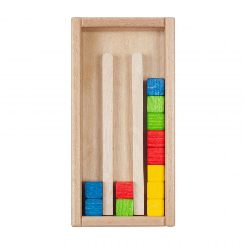 holzspielzeug sina farbstapelspiel f r kinder ab 4 jahre. Black Bedroom Furniture Sets. Home Design Ideas