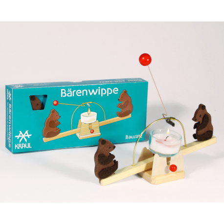 Holz Bärenwippe/Lichwippe