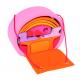 Holz Bauhaus, rosa-orange für Kinder ab 3 Jahre