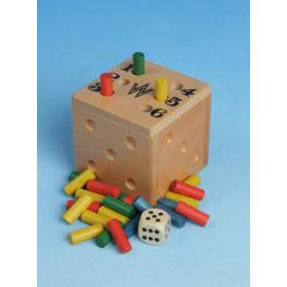 Werdauer Lustige Sechs - aus Holz/ The funny 6/Spiel für die ganze Familie