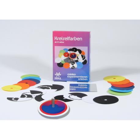 Experimentierkasten Kreiselfarben für Kinder ab 8 Jahre