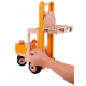 Holz Gabelstapler mit Palette für Kinder ab 3 Jahre