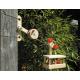 Holz - Winde/Station zur Großen Seilbahn für Kinder ab 6 Jahre