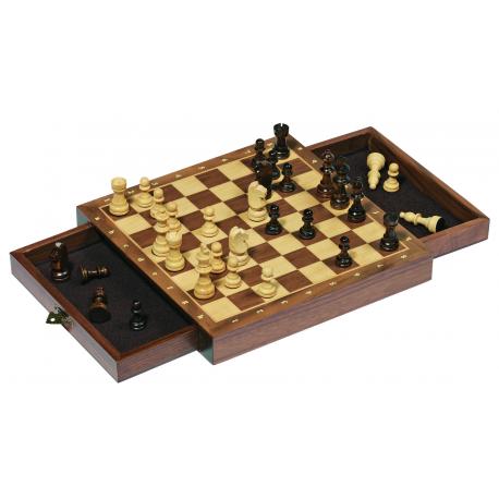 Holz Schach für Kinder ab 7 Jahre
