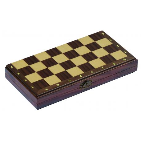 Holz Schachspiel für Kinder ab 7 Jahre
