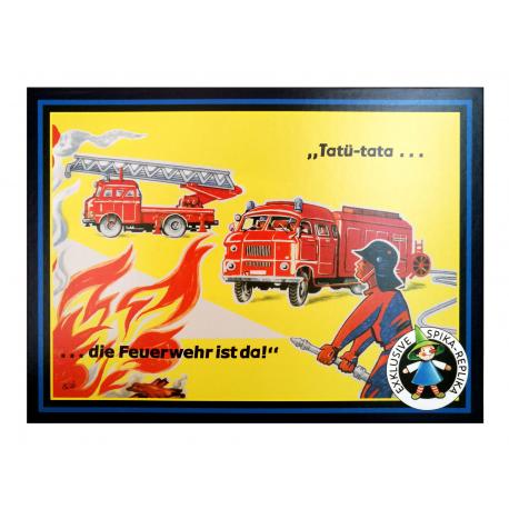 """""""Tatü - tata... die Feuerwehr ist da!"""" SPIKA-Spiel für Kinder ab 6 jähre"""