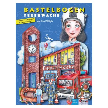 Bastelbogen Feuerwehr