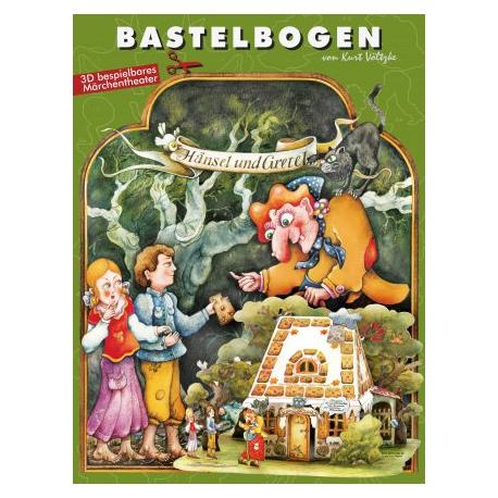 Bastelbogen Hänsel und Gretel