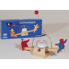Holz Lichtwippe - die Feuerschaukel