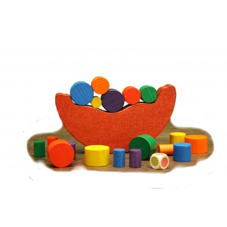 Holz Balancespiel für Kinder ab 3 Jahre