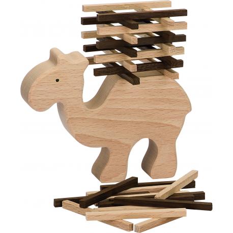 Holz Stapelkamel für Kinder ab 5 Jahre