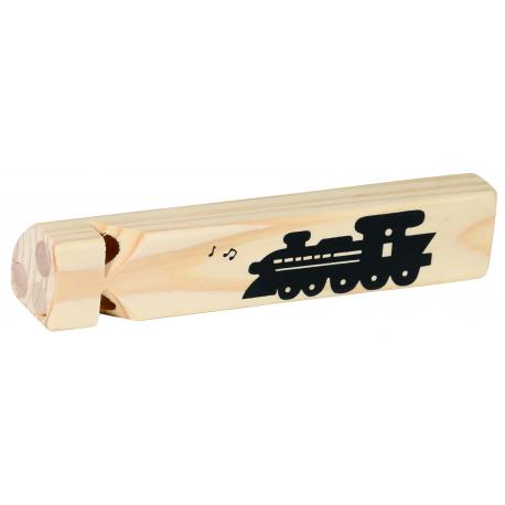 Holz Lokflöte für Kinder ab 3 Jahre