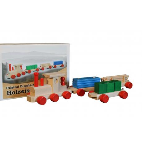 Holz Eisenbahn für Kinder ab 3 Jahre