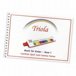 TRIOLA-Liederbuch Band 1 für Kinder ab 3 Jahre