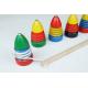 Holz Peitschenkreisel für Kinder ab 3 Jahre