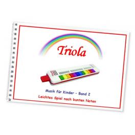 TRIOLA-Liederbuch Band 2 für Kinder ab 3 Jahre