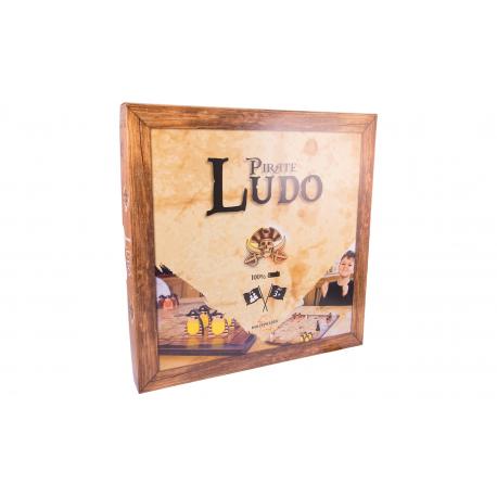 Holz Brettspiel Piraten-Ludo für Kinder ab 3 Jahre