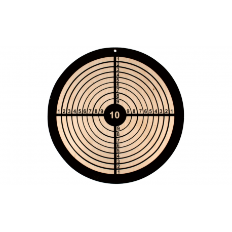 Holz Zielscheibe rund für Kinder ab 3 Jahre