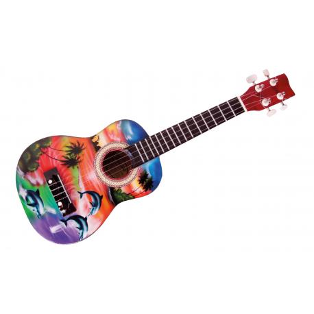 Holz Kindergitarre Ukulele Hawaii