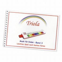 TRIOLA-Liederbuch Band 3 für Kinder ab 3 Jahre