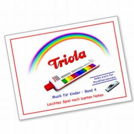 TRIOLA-Liederbuch Band 4 für Kinder ab 3 Jahre