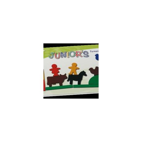 """Magnetlegespiel """"Junior's Formen und Figuren"""" für Kinder ab 3 Jahre"""