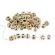 Holz Buchstabenwürfel - zum Auffädeln für Kinder ab 4  Jahre
