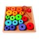 Fädelspiel im Holzrahmen für Kinder ab 1 Jahr