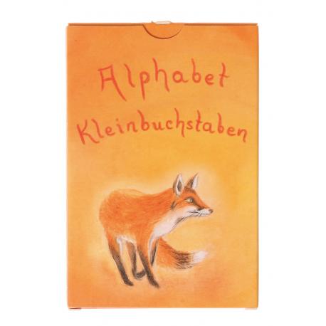Kartenspiel Alphabet für Kinder ab 4 Jahre