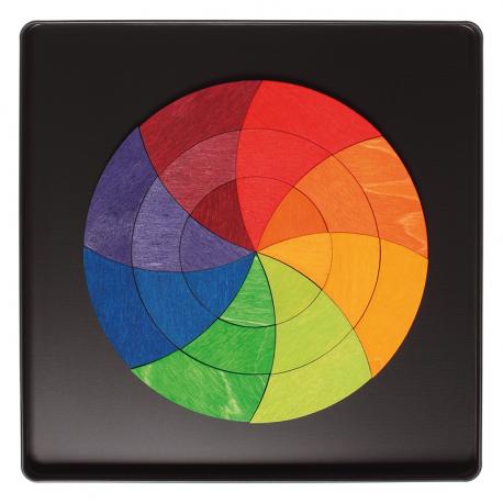 Magnetspiel Farbkreis Goethe für Kinder ab 4  Jahre