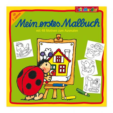 Mein erstes Malbuch für Kinder ab 3 Jahre