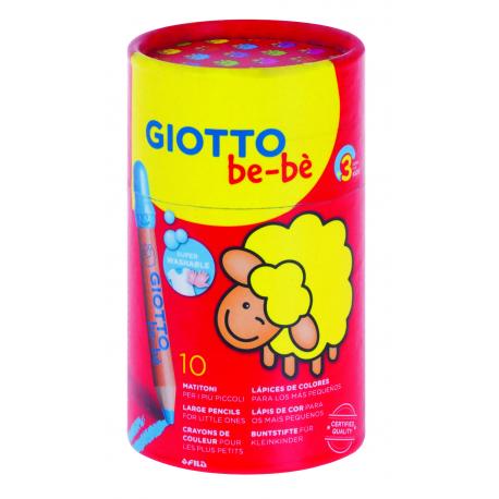 Giotto be-bé Buntstifte für Kinder ab 2 Jahre