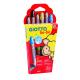 Giotto be-bé Buntstifte (6 Stück) für Kinder ab 2 Jahre
