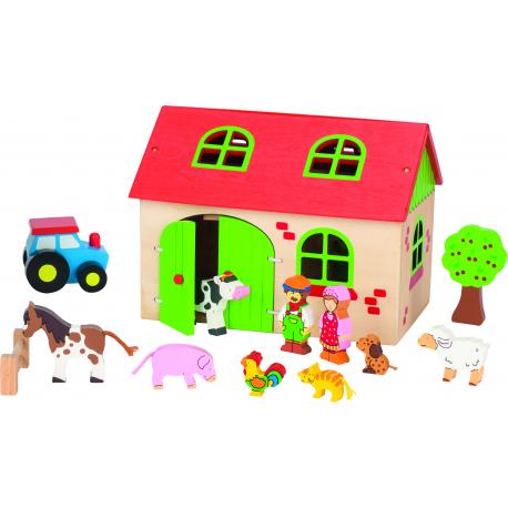 Holz Mein Bauernhof für Kinder ab 3 Jahre