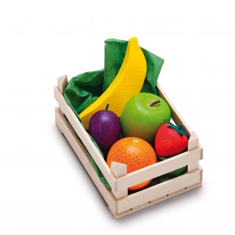 Holz Sortiment Obst, klein für Kinder ab 3 Jahre