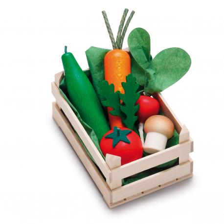 Holz Sortiment Gemüse, klein für Kinder ab 3 Jahre