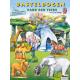 Bastelbogen Park der Tiere für Kinder ab 4 Jahre