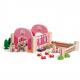 Holz Reiterhof für Kinder ab 3 Jahre