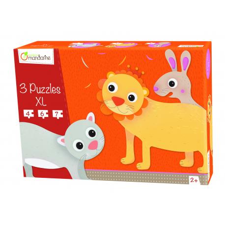 3 Tier-Puzzle XXL für Kinder ab 2 Jahre
