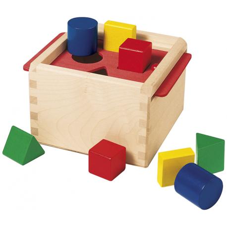 Holz Sortierbox für Kinder ab 1 Jahr
