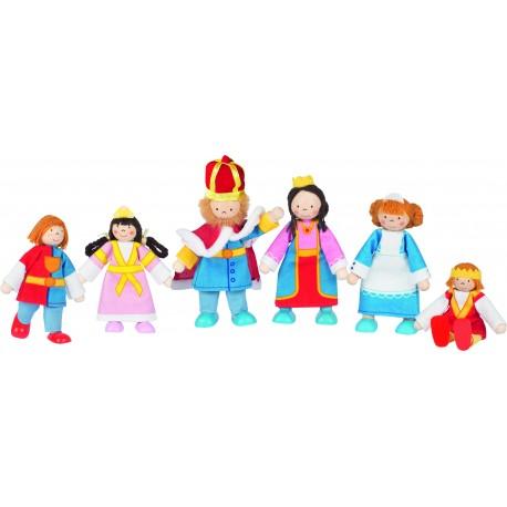 """Biegepuppen """"Königsfamilie"""" für Kinder ab 3 Jahre"""