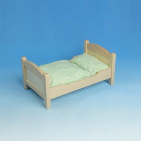 Werdauer Puppenbett aus Holz für Kinder ab 3 Jahre